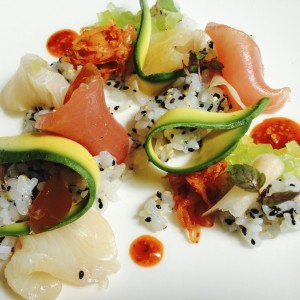 Top 5 Dishes - Chirashi Zushi - Rockpool - Food-Wine-Travel with Roberta Muir