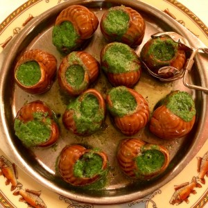 Snails - Paul Bocuse - Top 5 International Dishes 2015-2016