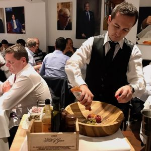 Tableside Service Gueridon in Sydney - Machiavelli - Food-Wine-Travel with Roberta