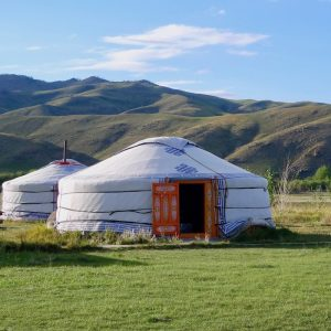 Unusual Hotels - Ger - Mongolia - Food-Wine-Travel with Roberta