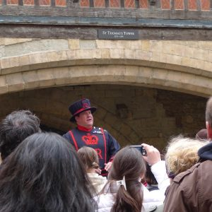 Top 5 London - Beefeater Guide at Tower of London - Food-Wine-Travel with Roberta Muir